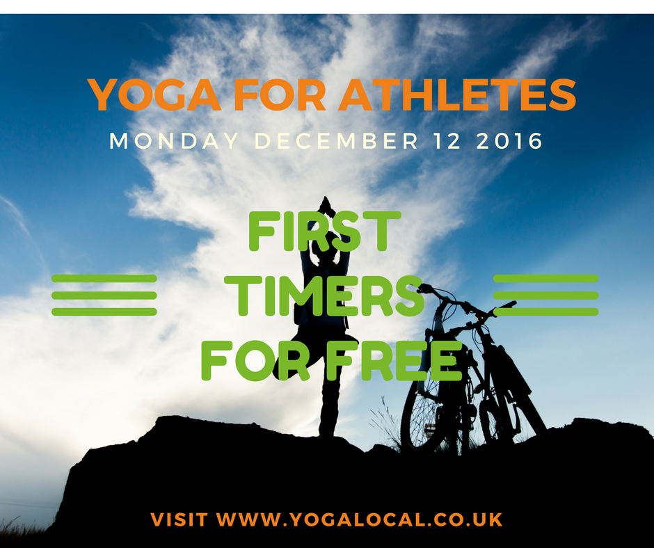 Yoga for Athletes Taster: First Timers For Free