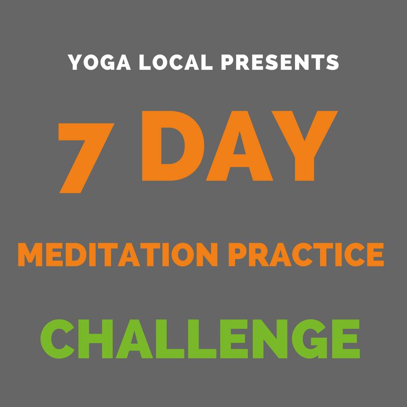 7 Day Meditation Practice Challenge