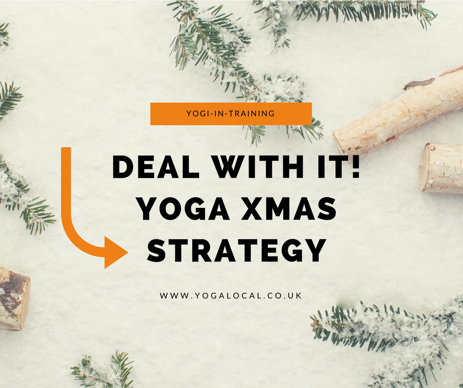 Christmas is coming. Deal with it! Your yogi strategy.
