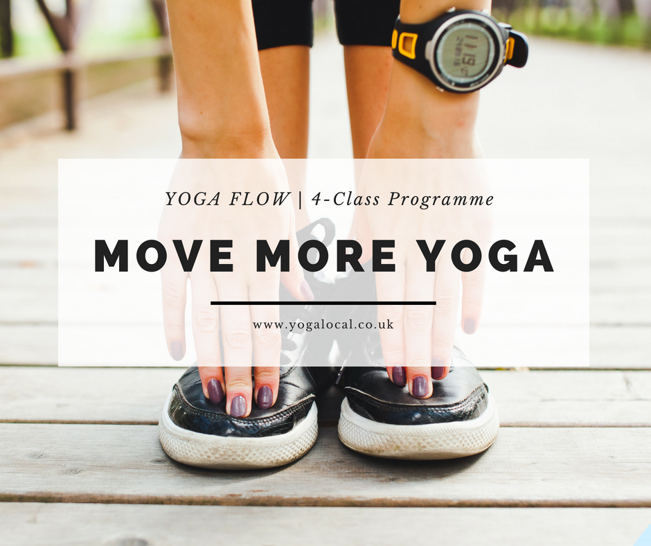 MOVE MORE| Yoga Flow 4-Class Series.