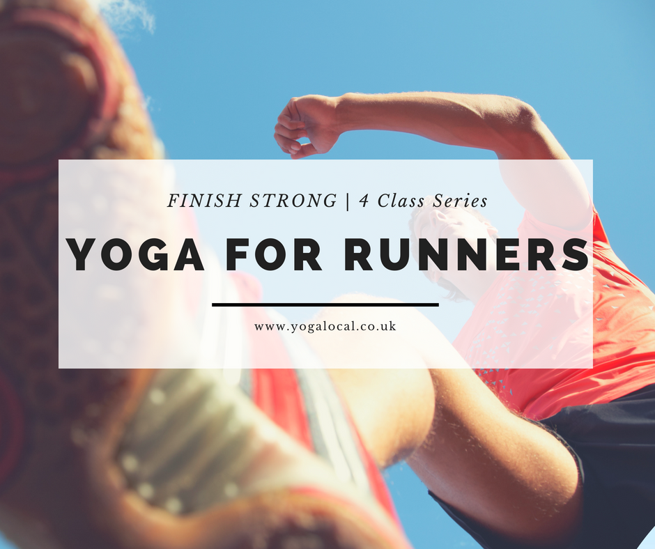 FINISH STRONG | Yoga for Runners  4-Class Series.