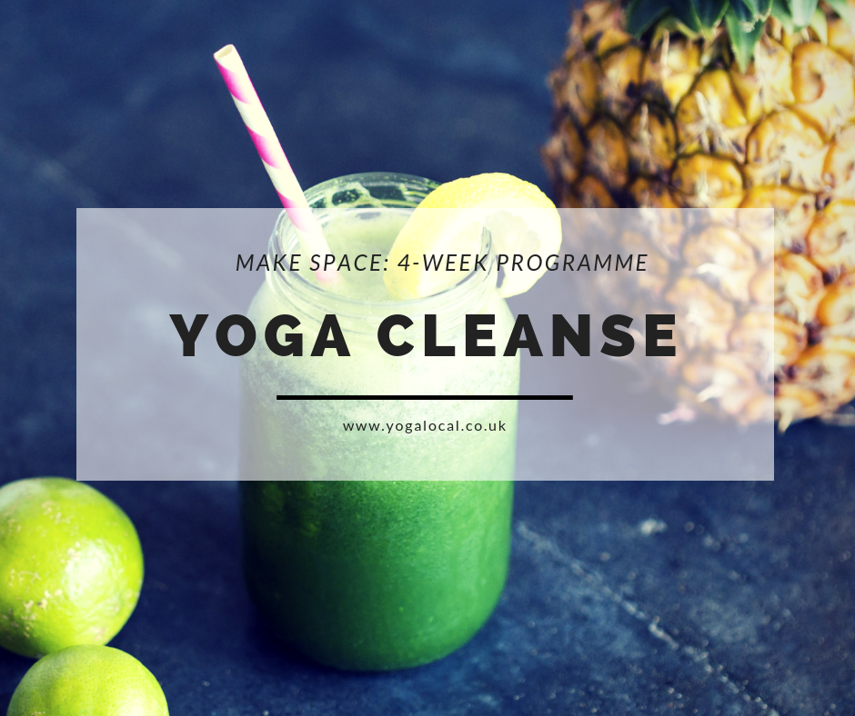 Yoga Cleanse | Monday AM 4-Class Series