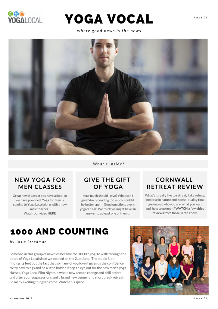 Yoga Vocal – Issue 1
